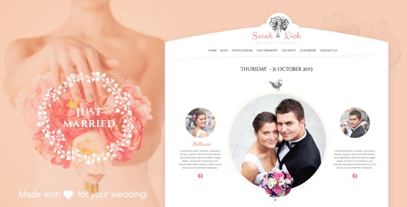 plantillas-wordpress-wedding