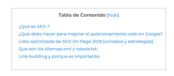 tabla-de -contenido-seo