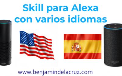 Como hacer un skill multilenguaje para Alexa o Amazon echo